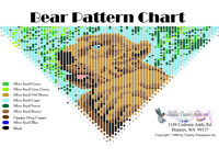 Bear Fringe Bead Graph