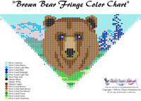 Brown Bear Fringe Bead Graph