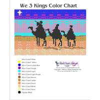 We 3 Kings Bead Graph