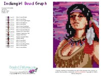 Indian Girl Bead Graph