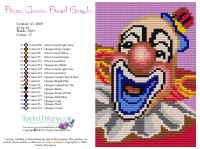 Bozo Clown Bead Graph