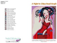 A Night in China Bead Graph