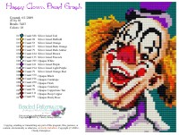Happy Clown Bead Graph