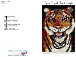 Tiger Night Bead Graph