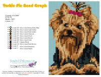 Yorkie Pie Bead Graph