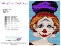 Young Clown Bead Graph