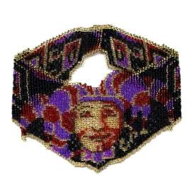 Beaded Joker Weave Necklace