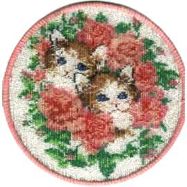 Beaded James' Kitties