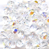 50 4mm Crystal Sparkle Faceted