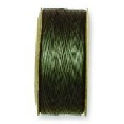 1 Bobbin of Olive Nymo Thread #D 64 yards