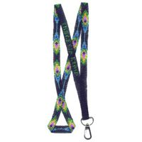 Peacock Feather Lanyard