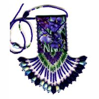 Beaded Amulet bag patterns and kits