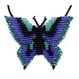 3D Teal Butterfly