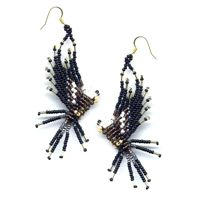 3D Eagle Earrings