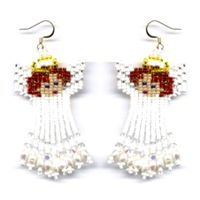 Angel Dangle Earring