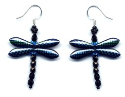 Dragonfly Dangle Earring Iridescent