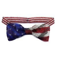 Flag Bow Tie Necklace by Dragon