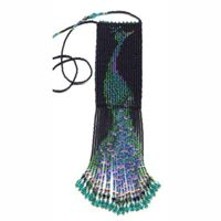 Peacock Fringe Bag