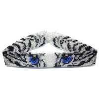 White Tiger Eyes Choker by Dragon