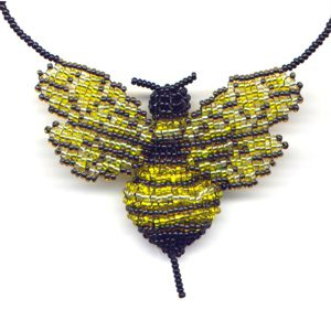 3D Beaded Bumble Bee