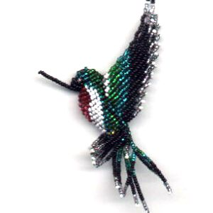 3D Ruby Throated Hummingbird