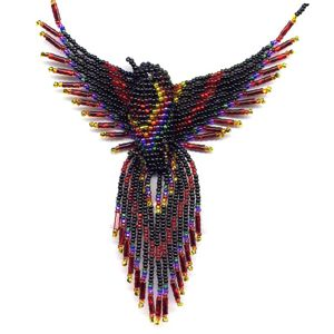 You can now make your own 3-D Beaded Phoenix!The Pattern is a 21 page ...