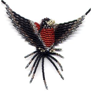 3D Beaded Robin