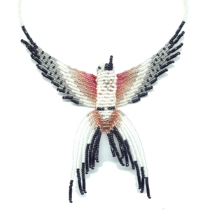 3D Beaded Scissor Tailed Flycatcher