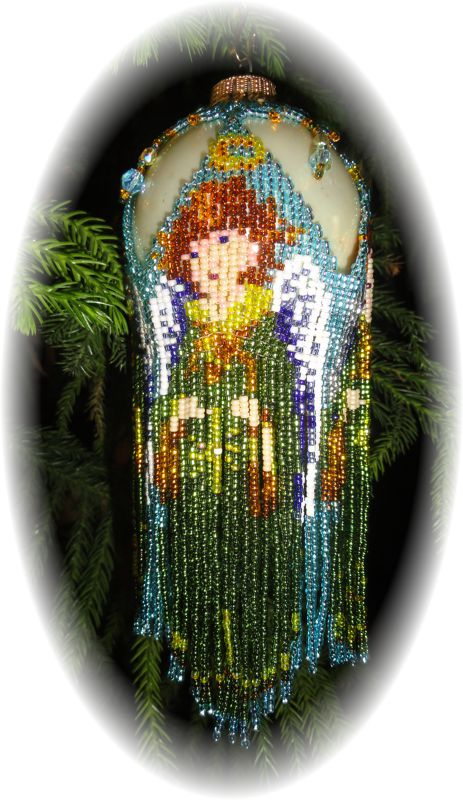 Angel Dress Christmas Ornament