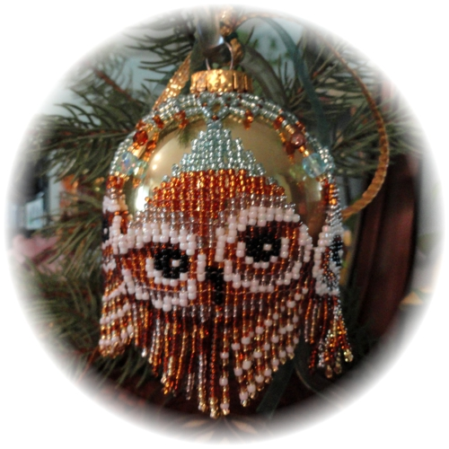 Owl Ornament Cover