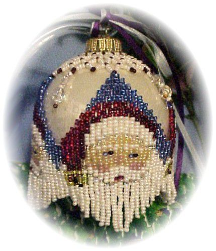 Santa Bells Christmas Ornament