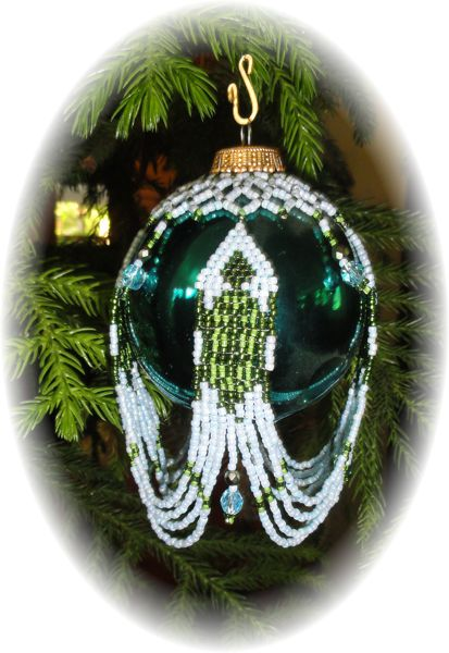 Turtle Sweep Christmas Ornament