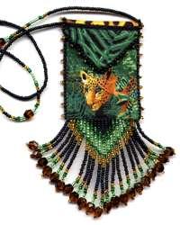 free beaded amulet bag patterns lena patterns