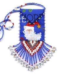 Santa Amulet Bag Pattern & Kit