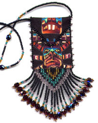 Totem Amulet Bag Pattern & Kit