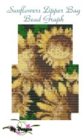 Sunflower Zipper Bag