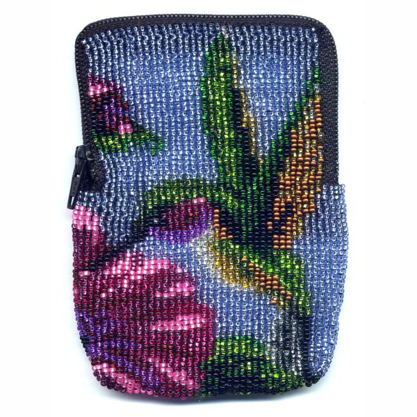 Hummingbird Zipper Bag
