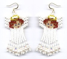 FREE Bead Earrings Pattern - Coletta Gems and Jewels