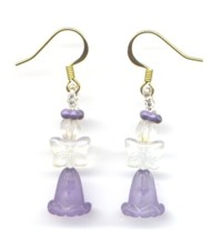 Little Purple Angel Fairy Earrings Patterns & Kit