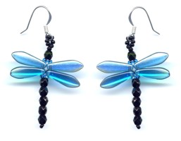 Dragonfly Dangle Earring Capri