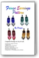 Fringe Earrings Beading E-Pattern