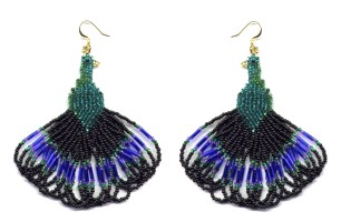 Peacock Sweep Earrings