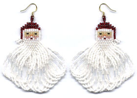 Santa Sweep Earring