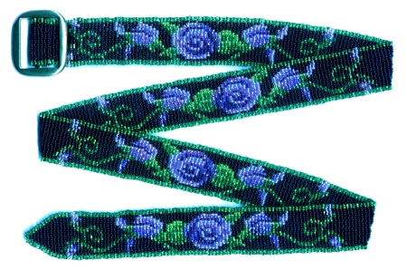 Blue Rose Belt