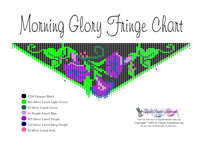 Morning Glory Fringe Necklace