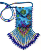 beaded amulet bags and kits