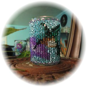Hummingbird Little Candle