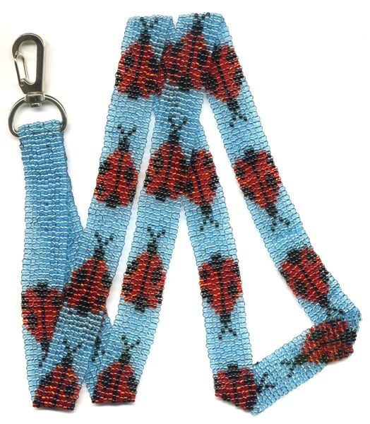 Ladybug Lanyard Pattern and Kit