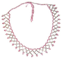 Raina Pink Necklace