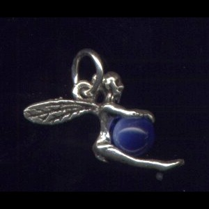 Fairy Cobalt Pendant Sterling Silver